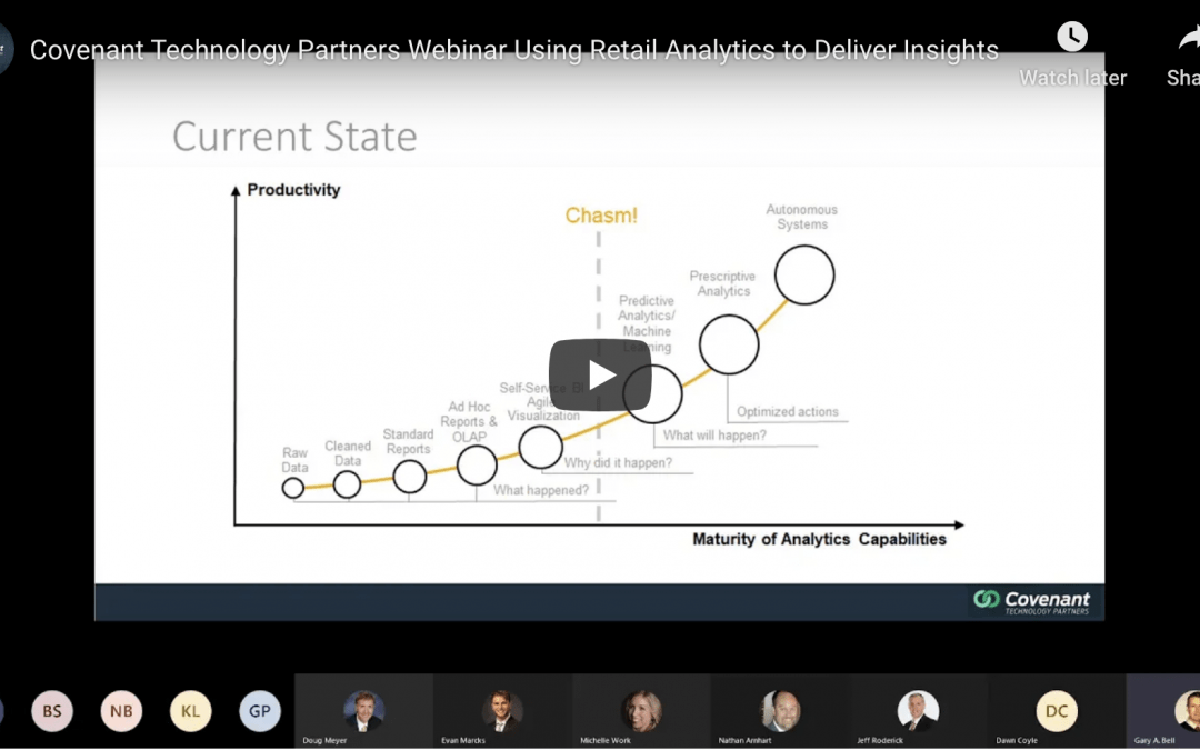 Covenant Technology Partners Webinar: Using Retail Analytics to Deliver Insights