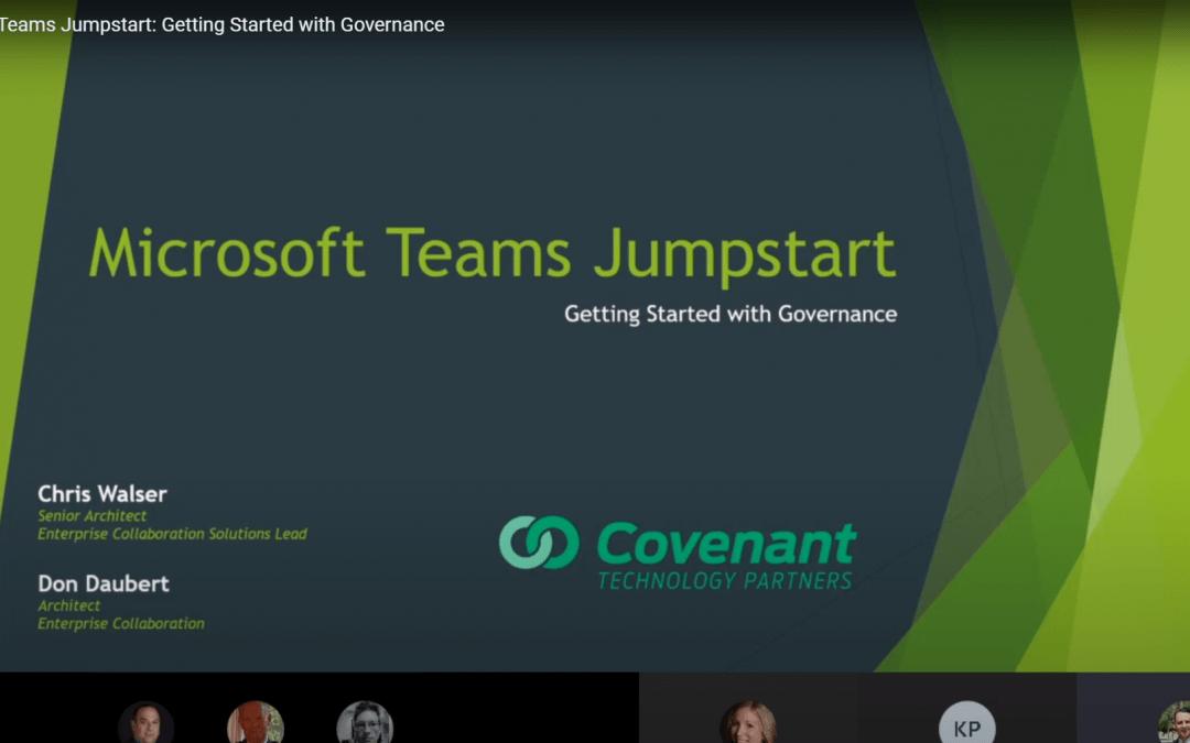 Microsoft Teams Jumpstart
