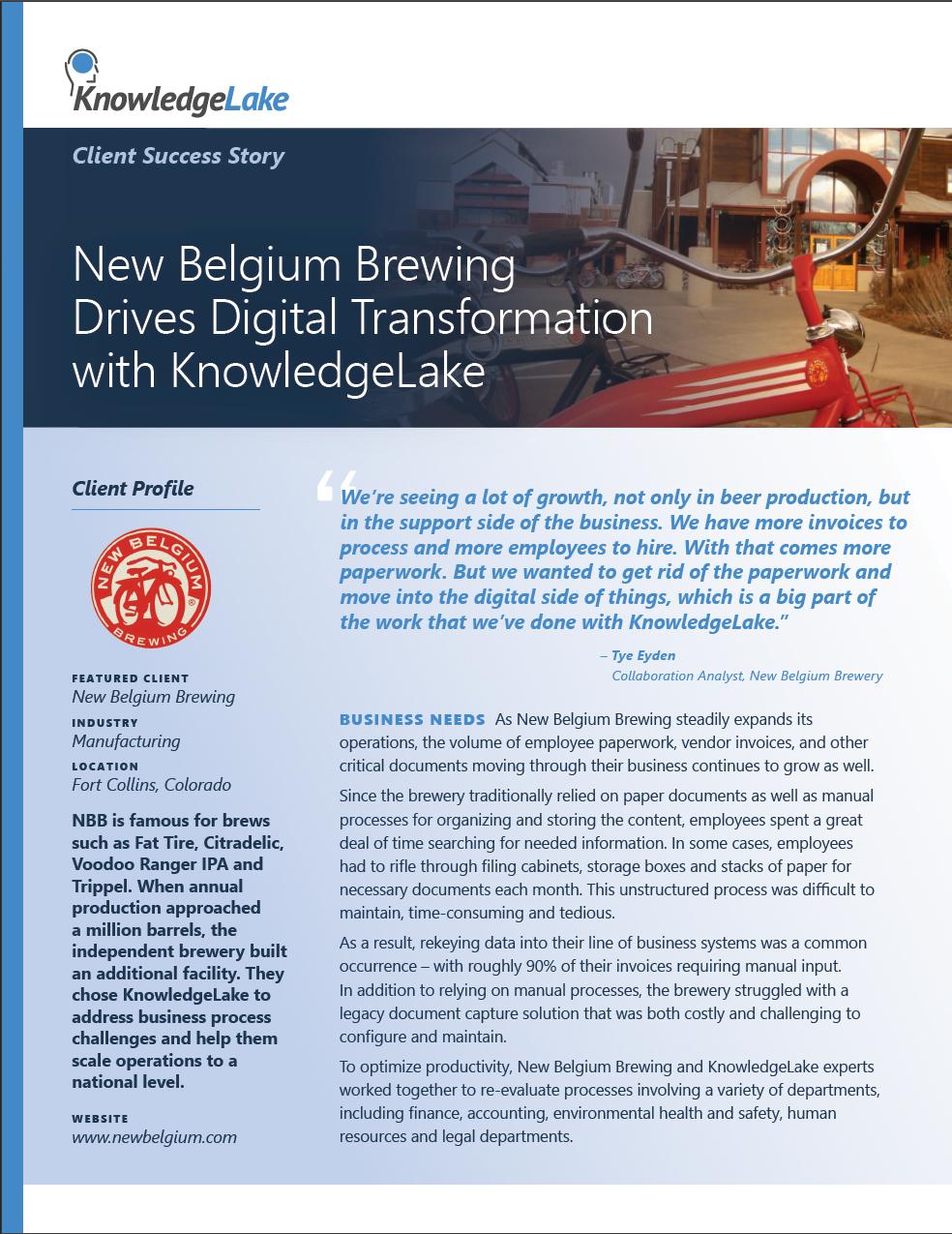 Belgium Brewery PDF